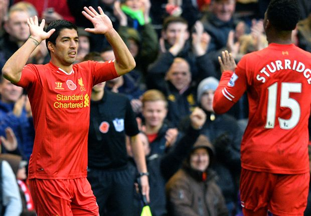 Liverpool 4-0 Fulham: Suarez at the double for rampant Reds