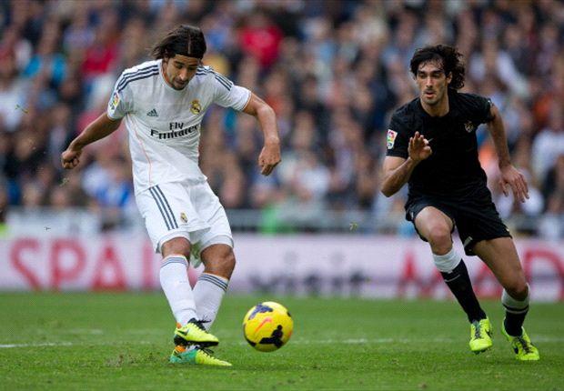Khedira marcó el cuarto gol del equipo blanco.