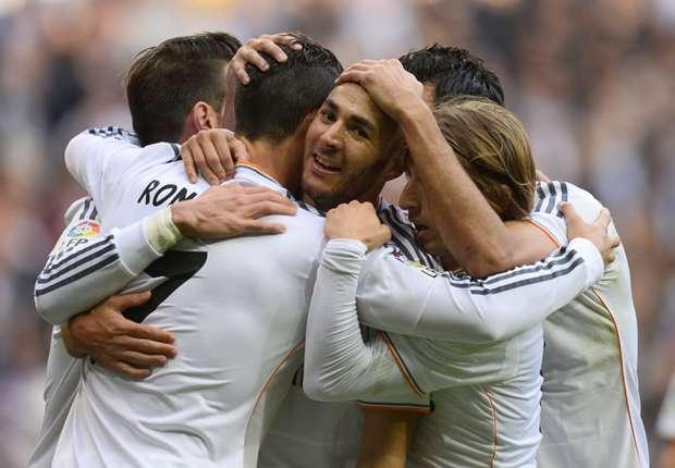 Primera Division: Real Madrid zerlegt Real Sociedad