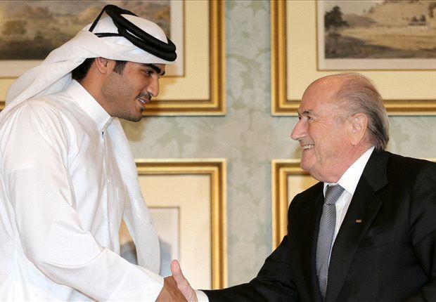 Sepp Blatter bei einem Treffen in Katar