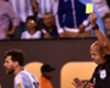 Messi booked for dive in final
