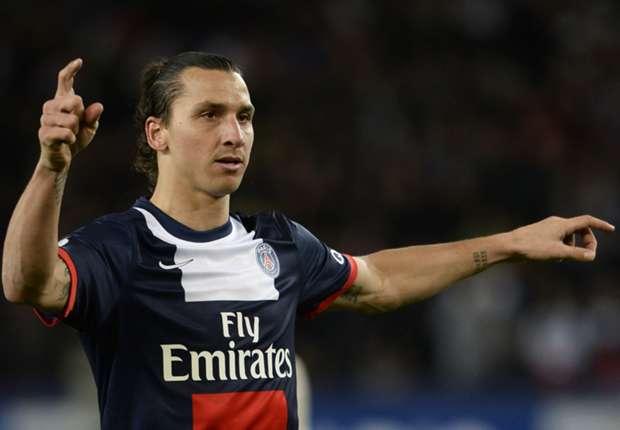 Mal wieder Mann des Spiels - Zlatan Ibrahimovic