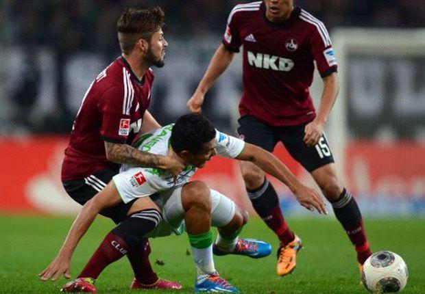 Umkämpfte Partie im Borussia-Park