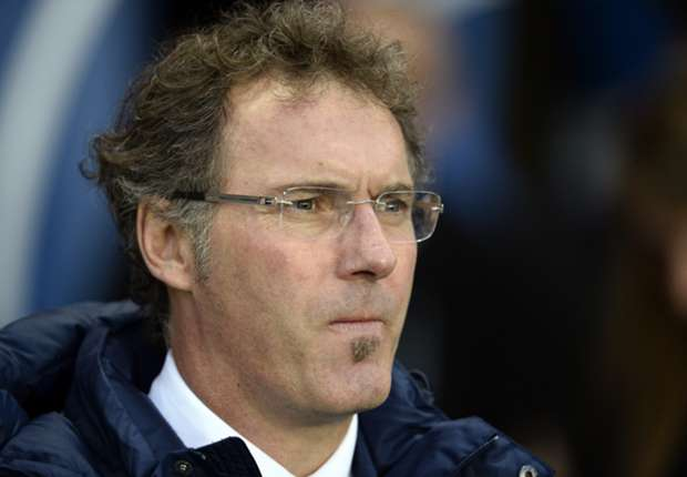 PSG manager Laurent Blanc