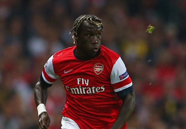Sagna ruled out of Arsenal's showdowns with Napoli & Manchester City