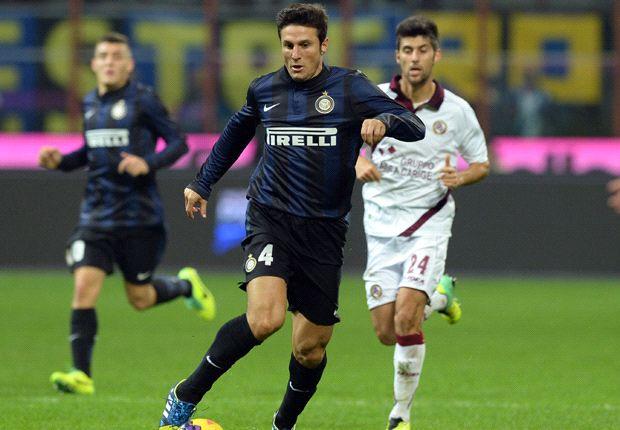 Javier Zanetti hat auch mit 40 Jahren noch Lust auf Fußball