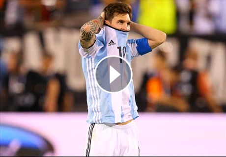 WATCH: Messi's last touch for Argentina
