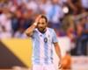 Higuaín no volvió con el equipo