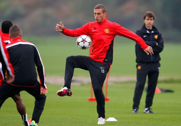 Manchester United must 'step up' for Arsenal test - Vidic