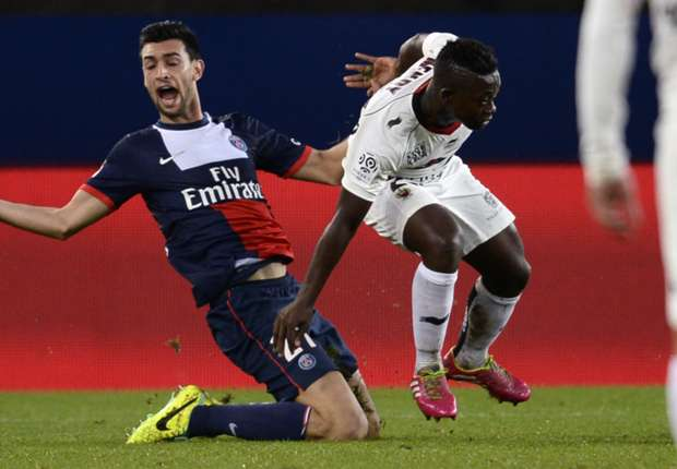 Paris Saint-Germain forward Javier Pastore