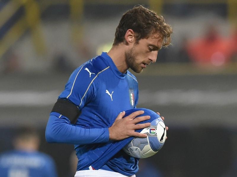 Marchisio sort blessé lors de l'Italie-Uruguay
