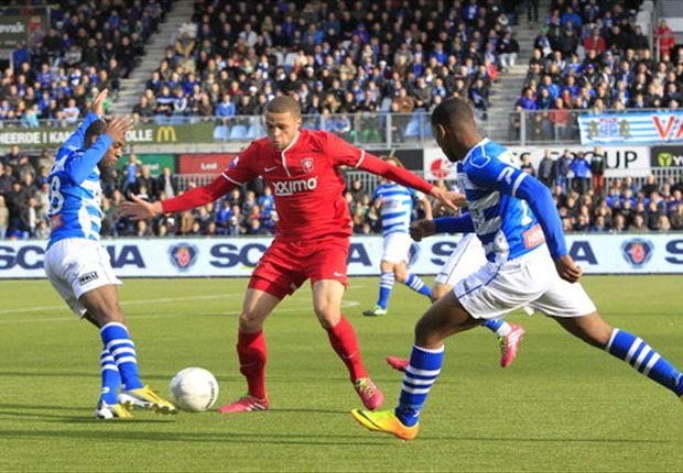 Matige wedstrijd levert in Zwolle geen winnaar op