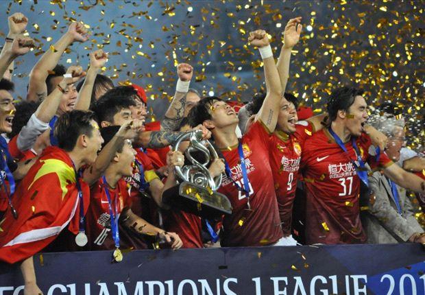 Die Bayern treffen auf Asiens Champions League Guangzhou Evergrande