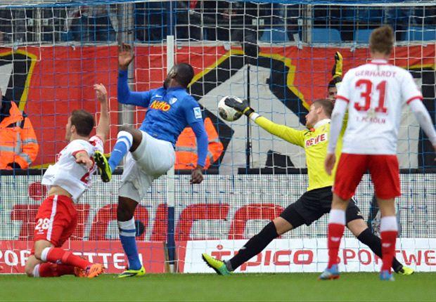 Richard Sukuta-Pasu erzielte gegen den 1. FC Köln den Treffer des Tages