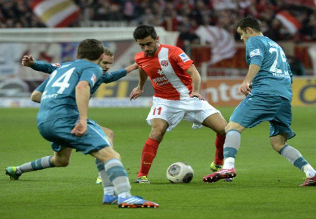 FSV Mainz 05 behielt gegen Eintracht Frankfurt die Oberhand
