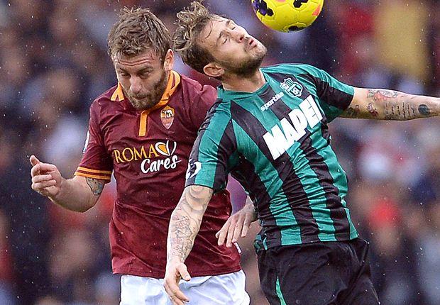 Der AS Rom gab den Sieg in letzter Minute aus der Hand