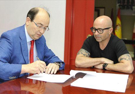 Sampaoli, nuevo DT de Sevilla