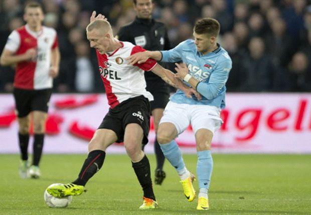 Topper Feyenoord - AZ in balans