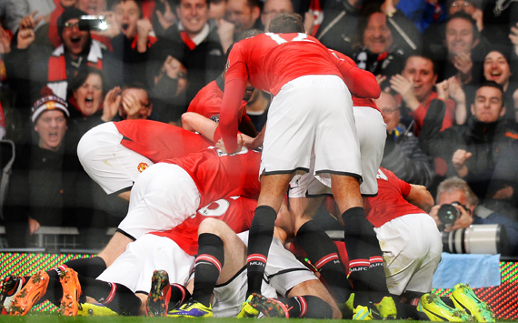 In pictures: Manchester United 1-0 Arsenal