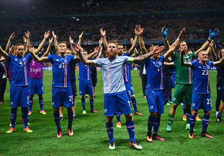 أين كان لاعبو آيسلندا وقت يورو 2012؟