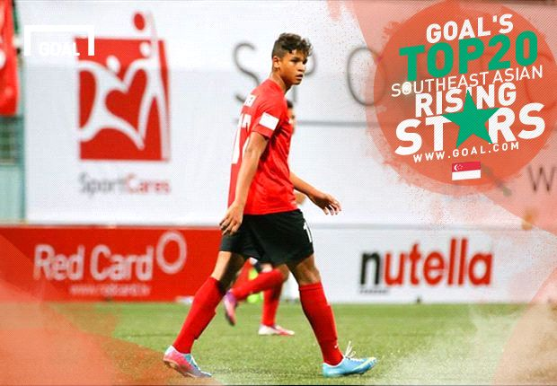 Goal's Top 20 Southeast Asian Rising Stars: Irfan Fandi Ahmad - Singapore