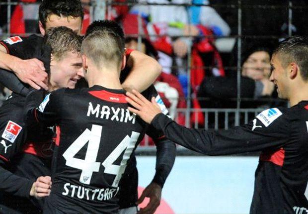 Jubeln die Stuttgarter endlich noch Mal zu Hause?