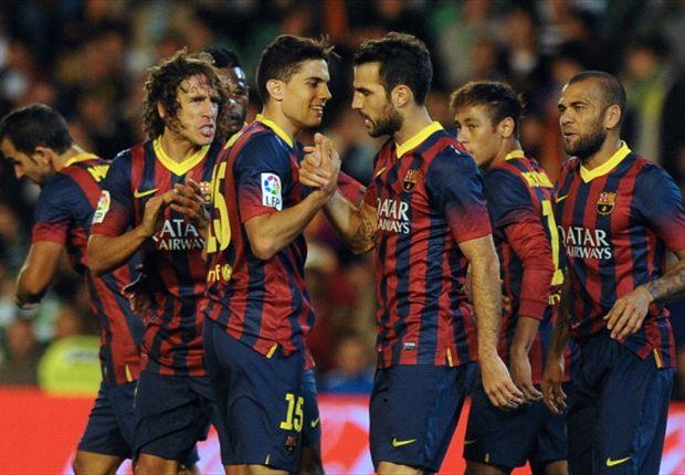 ESP - Le Barça assomme le Bétis