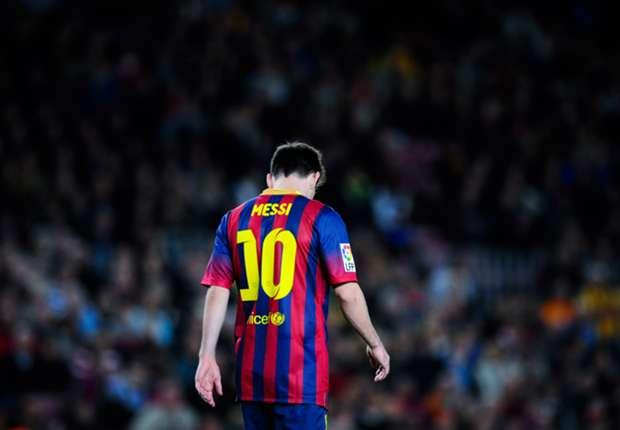 Messi, ausente entre seis y ocho semanas.