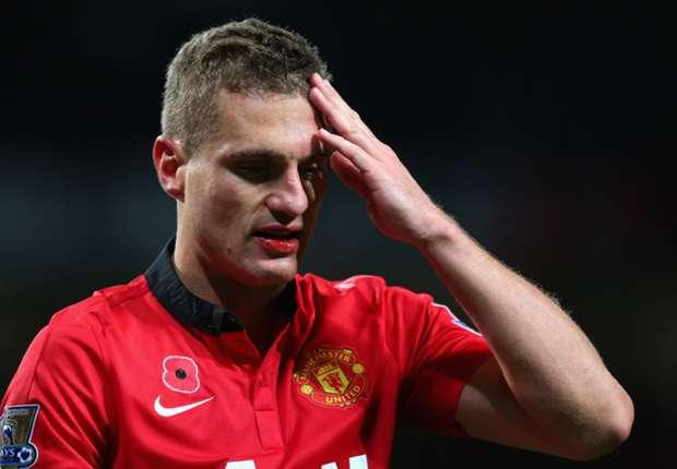 Kann im Sommer ablösefrei gehen: Manchester Uniteds Nemanja Vidic