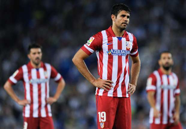 Injured Costa out of Spain squad