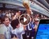 VIDEO: El grupo de WhatsApp de los campeones del 86 ►