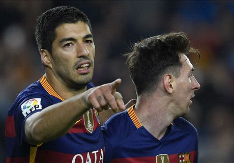 Suarez: Messi will reverse his decision