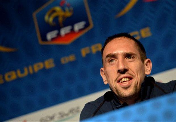 Ribery debe afrontar el Repechaje ante Ucrania