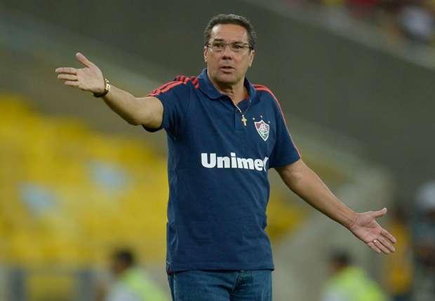 Former Fluminense coach Vanderlei Luxemburgo