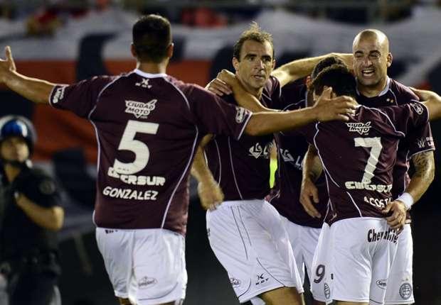 Lanús comienza a soñar con la final de la Sudamericana.