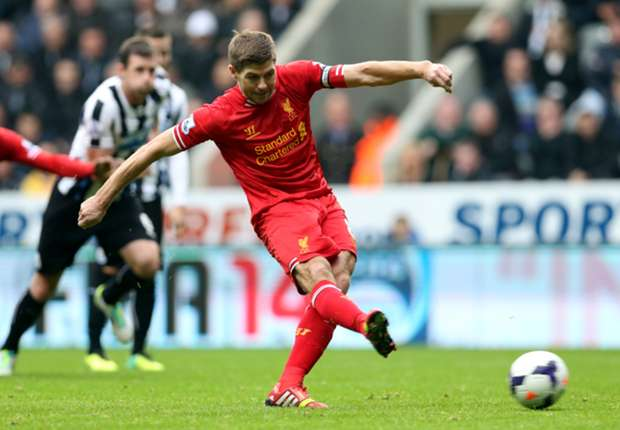 Liverpool captain Gerrard out for up to six weeks