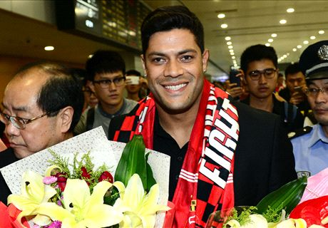 Hulk in China ahead of €58M move