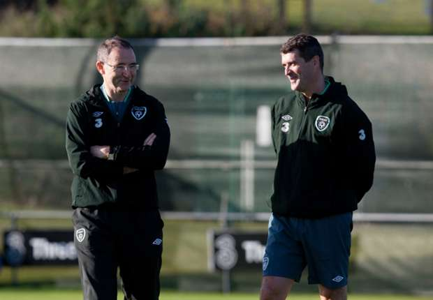 Ireland boss Martin O'Neill hails Keane's enthusiasm