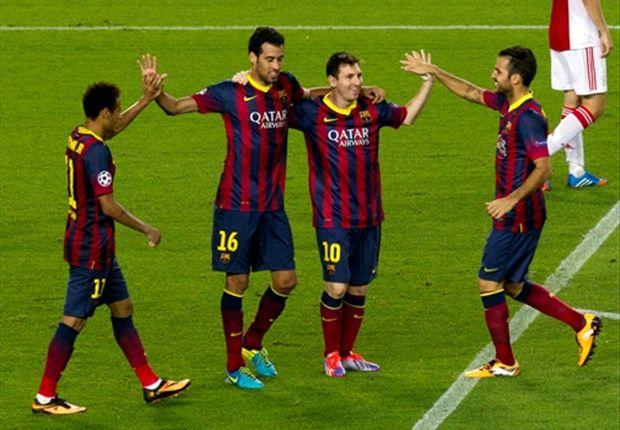 Spaniens aktuelle Nummer eins: der FC Barcelona