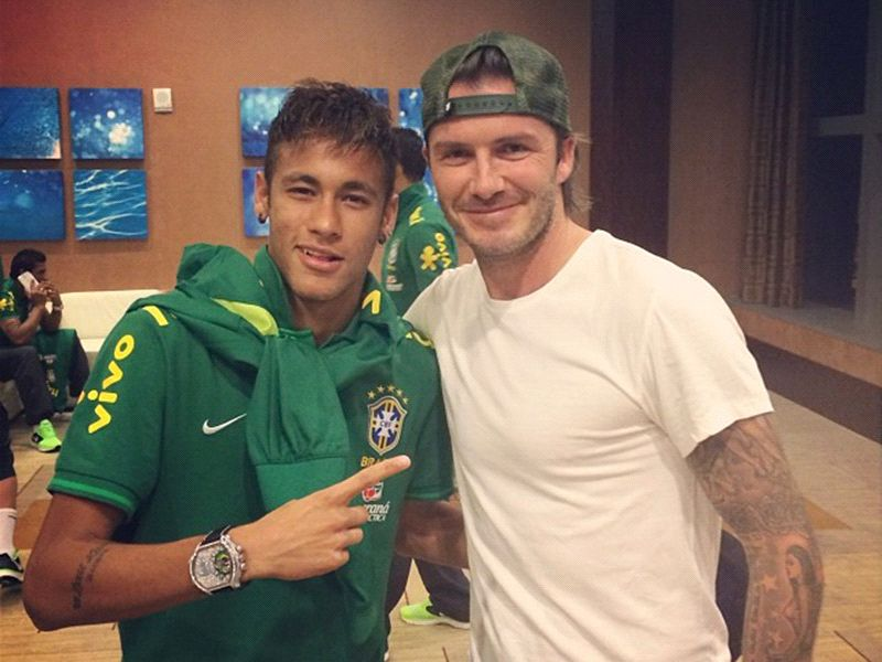 Beckham makes cheeky effort to 'sign' Neymar for Inter Miami