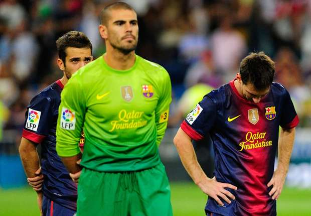 Valdes: Messi is God, we will always depend on him