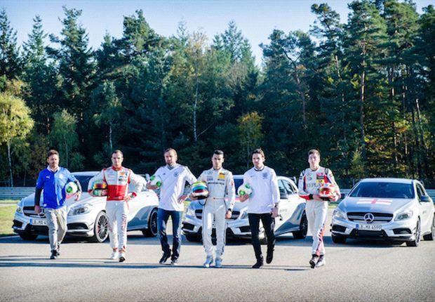 Wettkampf der Nationen: Deutschland, England und Italien kämpfen mit der A-Klasse von Mercedes-AMG um den Sieg