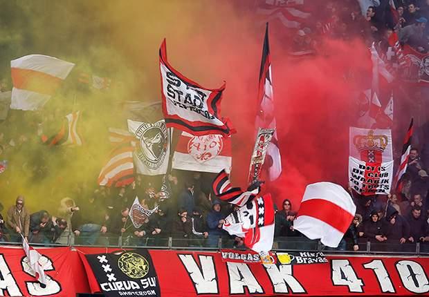 Ajax sluit tegen Salzburg deel van de tribune af