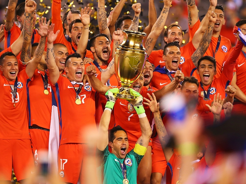 Copa America champion Chile set to face Euro 2016 winner