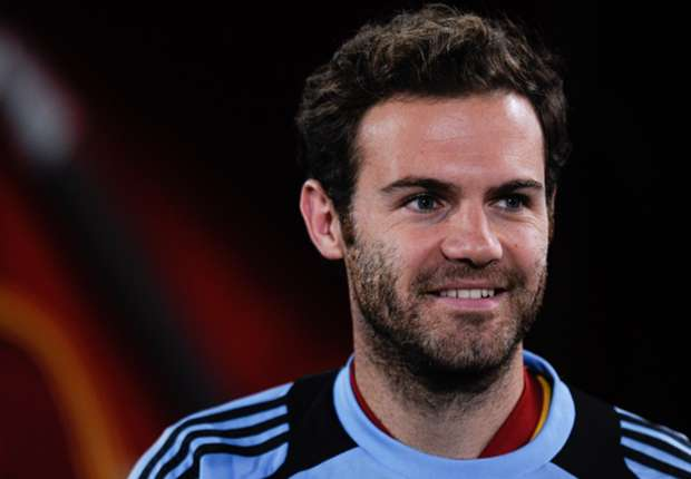 Spain midfielder Juan Mata
