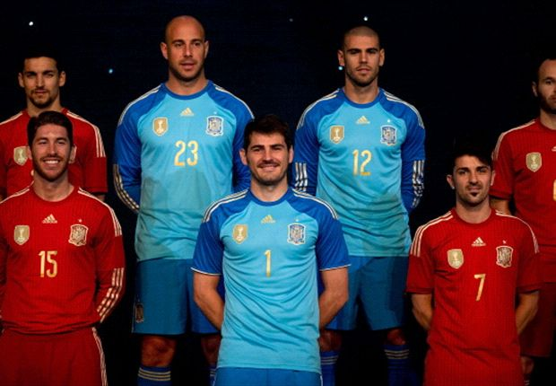 340373 heroa - Spain reveal new kit for World Cup 2014