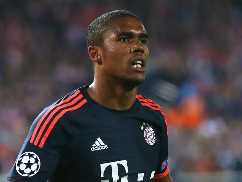 Bayern, Douglas Costa absent jusqu'en 2017 ?
