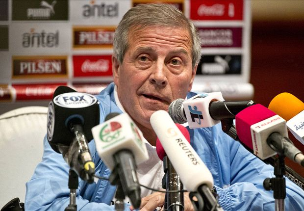 Uruguay can't take anything for granted, insists Tabarez