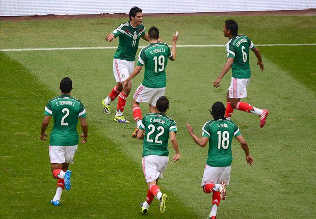 México 5-1 Nueva Zelanda: Paliza para poner pie y medio en Brasil 2014