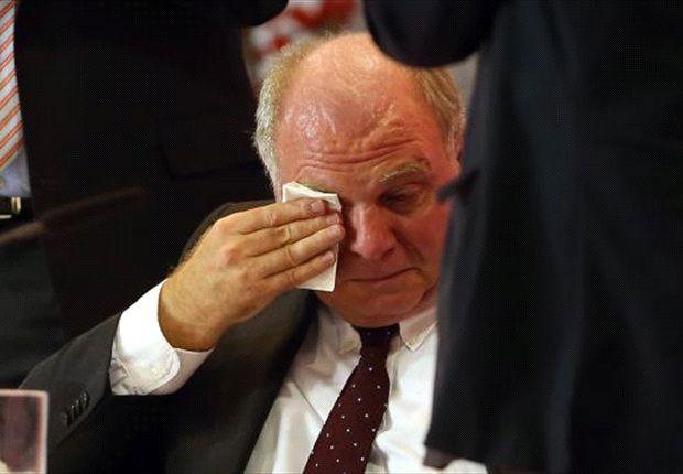 Hoeneß auf der Mitgliederversammlung: Tränen lügen nicht?